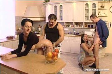 Michelle Wild - orgia a konyhában